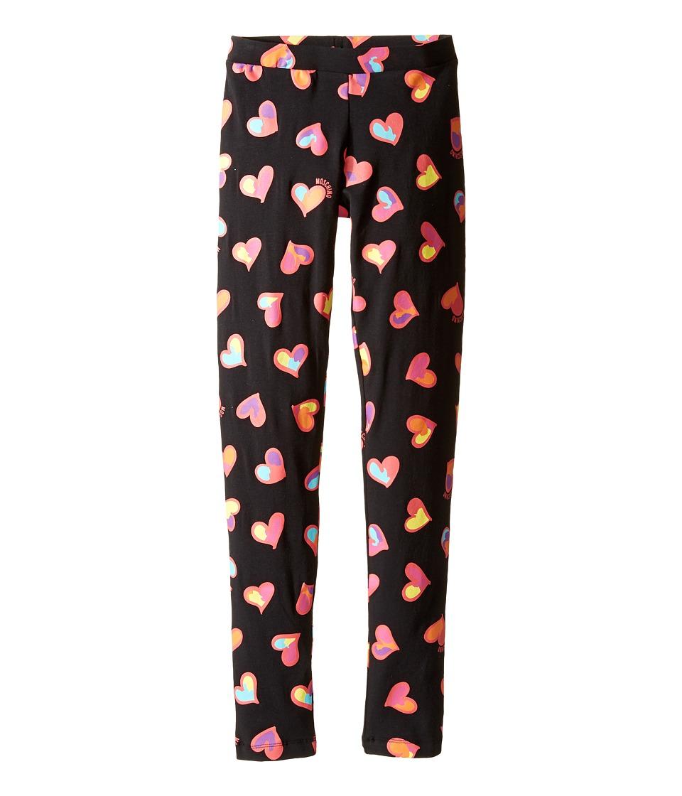Moschino Kids - All Over Heart Print Leggings