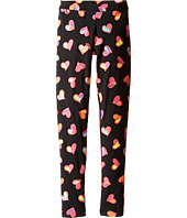 Moschino Kids - All Over Heart Print Leggings (Big Kids)