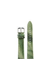 Michele - 18mm Spring Lizard Strap Green