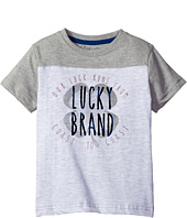 Lucky Brand Kids - Coastal Luck Short Sleeve Tee in Slub Heather Jersey (Little Kids/Big Kids)