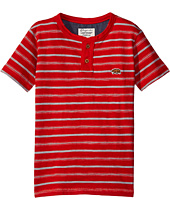 Lucky Brand Kids - Offshore Short Sleeve Henley in Slub Jersey (Big Kids)