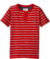 Lucky Brand Kids - Offshore Short Sleeve Henley in Slub Jersey (Little Kids/Big Kids)