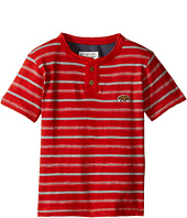 Lucky Brand Kids - Offshore Short Sleeve Henley in Slub Jersey (Toddler)