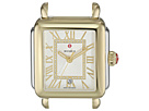 Michele 33mm x 35mm, Deco Madison Two-Tone Diamond Dial Silver