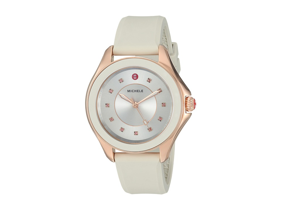 Michele - 40mm, Cape Topaz Rose Gold/Taupe (Rold Gold/Taupe) Watches