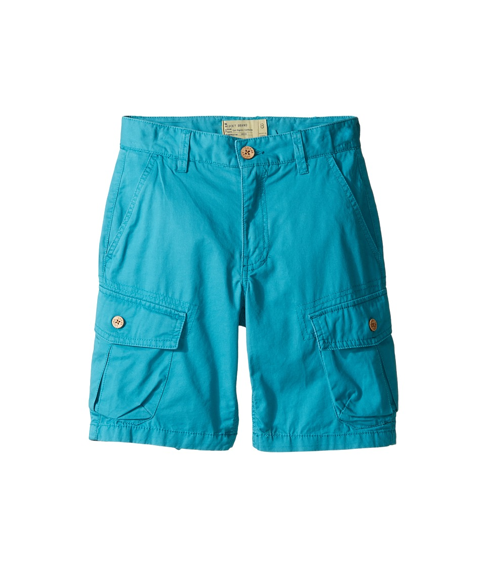 Lucky Brand Kids - Heritage Cargo Shorts in Twill