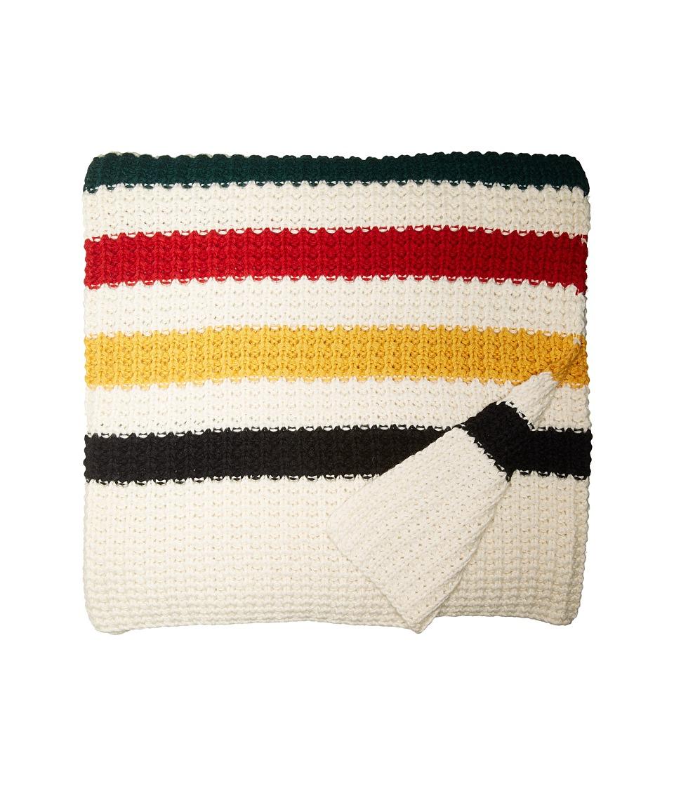 Pendleton - Knit Throw (Glacier) Blankets