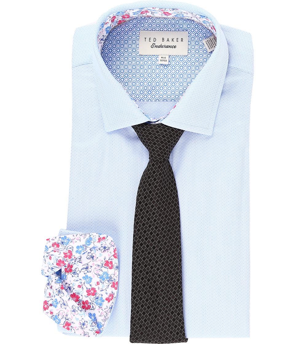 Ted Baker - Elias Endurance Sterling Shirt (Blue) Men's Clothing
