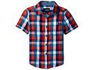 Lucky Brand Kids - Pier Short Sleeve Camp Shirt in Twill (Toddler)