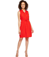 Ivanka Trump - Sleeveless Ruffle Neck with Adjustable Waist