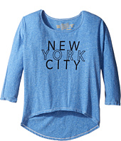 The Original Retro Brand Kids - New York City 3/4 Dolman Sleeve (Big Kids)
