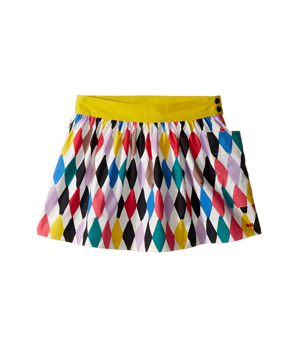 Sonia Rykiel Kids - Harlequin Printed Skirt w/ Pocket