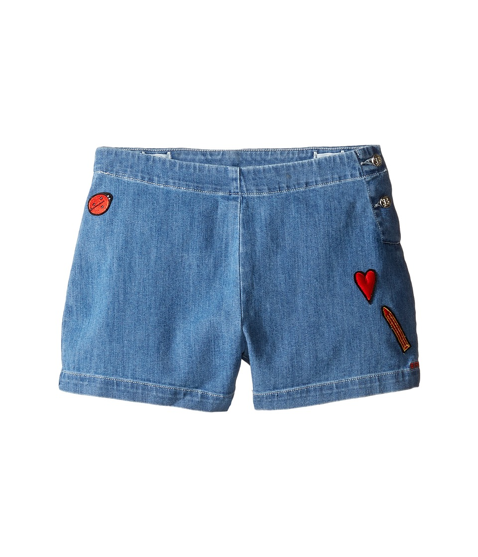 Sonia Rykiel Kids - Denim Shorts w/ Patch Detail On Front