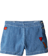 Sonia Rykiel Kids - Denim Shorts w/ Patch Detail On Front (Big Kids)
