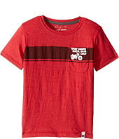 Lucky Brand Kids - Moto Tee Heather Jersey Short Sleeve (Little Kids/Big Kids)