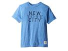 The Original Retro Brand Kids New York City Tri-Blend Short Sleeve Tee (Big Kids)