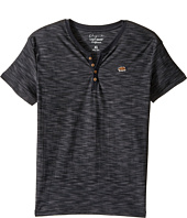 Lucky Brand Kids - Quakes Short Sleeve Henley (Big Kids)