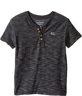 Lucky Brand Kids - Quakes Short Sleeve Henley (Little Kids/Big Kids)