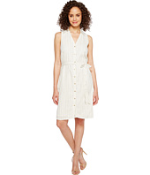 Ivanka Trump - Cotton Blend Stripe Shirtdress