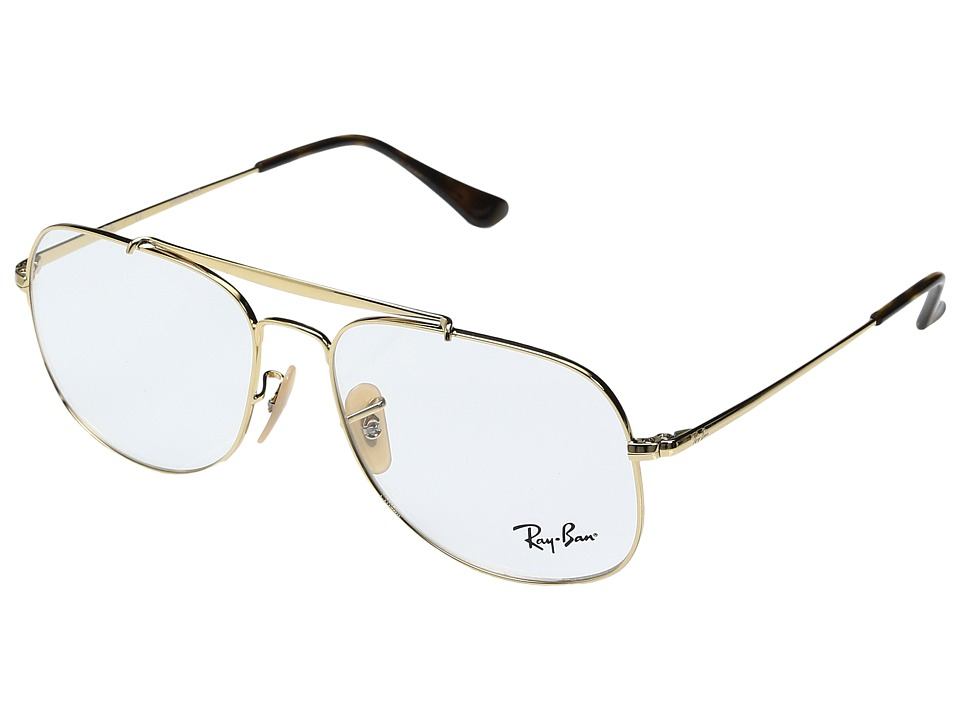 Ray-Ban - 0RX6389 57mm (Gold) Fashion Sunglasses