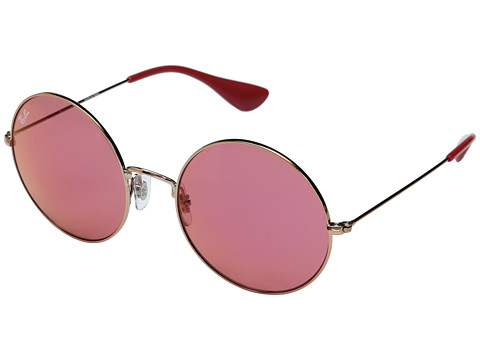 Ray-Ban 0RB3592 55mm - Shiny Copper Frame/Yellow Mirror Red Lens