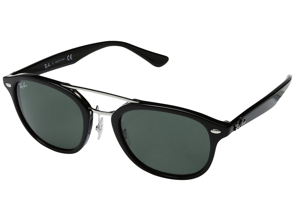 Ray-Ban 0RB2183 53mm (Black Frame/Dark Green Lens) Fashio...
