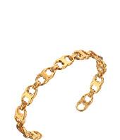 Tory Burch - Delicate Gemini Link Cuff Bracelet