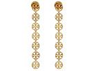 Tory Burch - Logo Linear Earrings