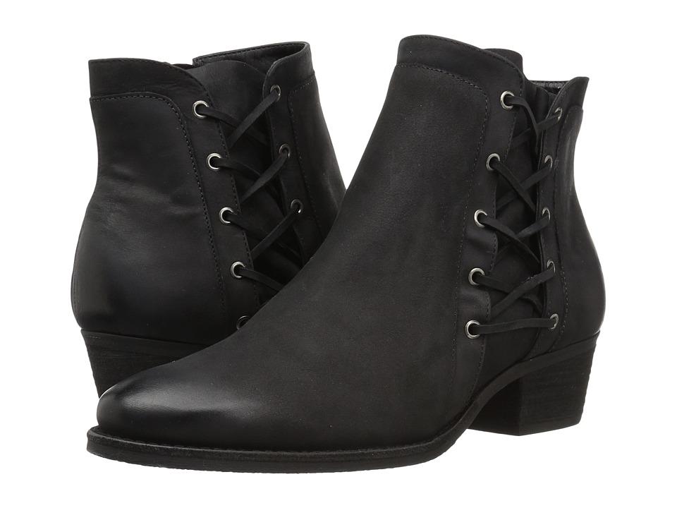 Walking Cradles Galveston (Black Distressed Leather) Women