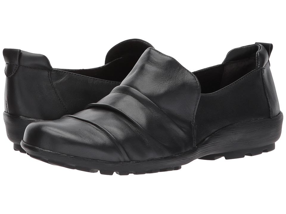 Walking Cradles Hanson (Black Leather) Women