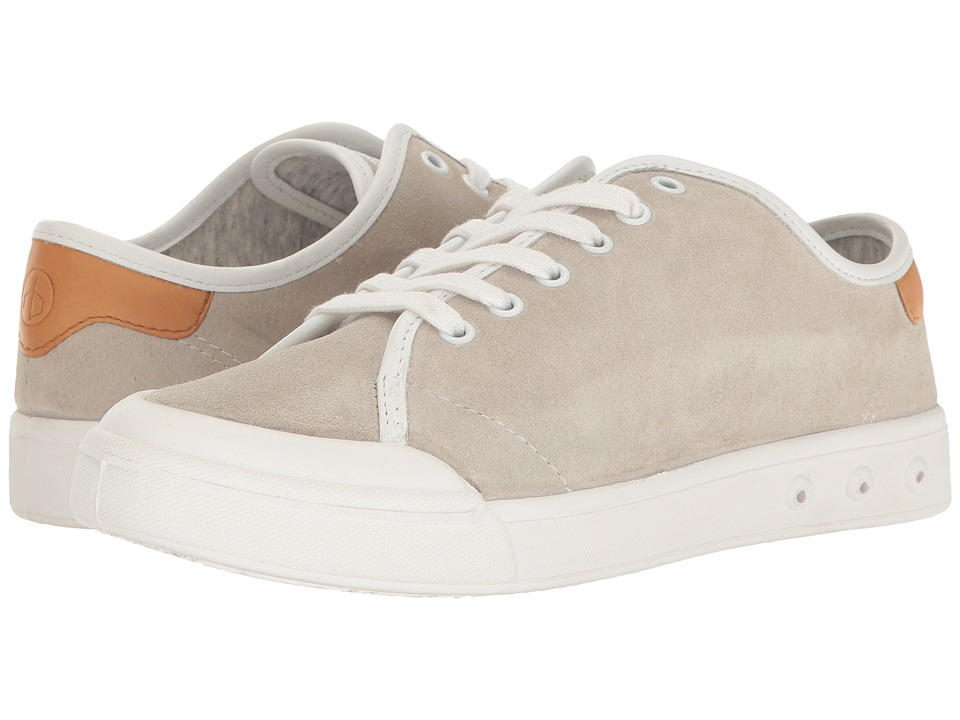 rag & bone Standard Issue Lace-Up (Off-White Suede) Women