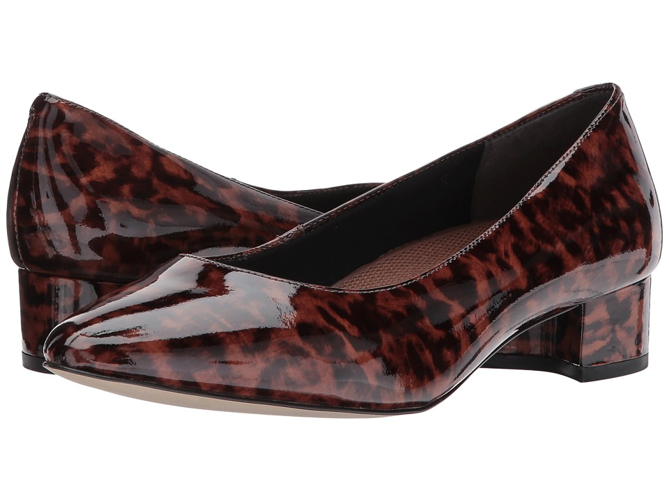 Walking Cradles Heidi (Leopard Patent Leather) Women
