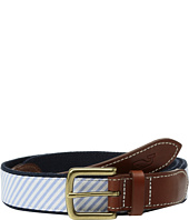 Vineyard Vines - Kentucky Derby Seersucker Canvas Club Belt