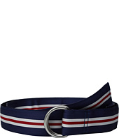 Vineyard Vines - Pop Stripe Ribbin D-Ring Belt