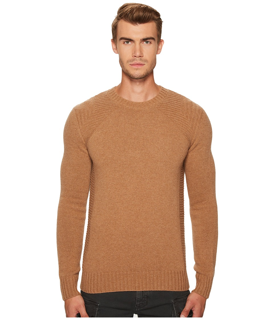 Belstaff Lanson Wool Cashmere Sweater (Sepia) Men's Sweater