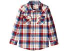 Levi's® Kids - Barstow Western Plaid Shirt (Little Kids)