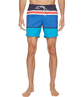 Lacoste - Engineered Stripe Swim Medium Length