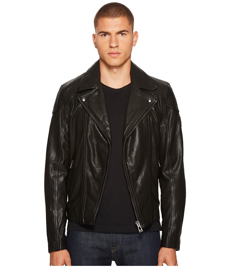 BELSTAFF - Wingrave 2.0 Burnished Leather Moto Jacket