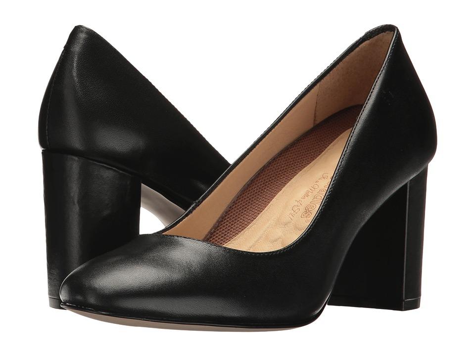 Walking Cradles Matisse (Black Leather) High Heels