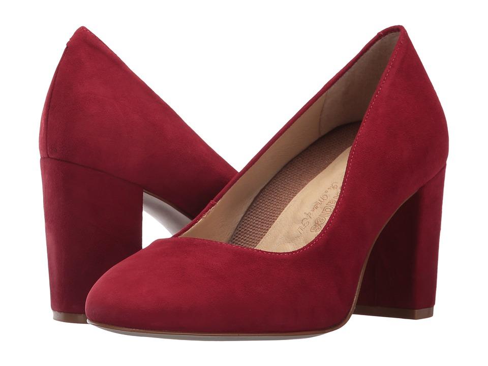 Walking Cradles Matisse (Red Suede) High Heels