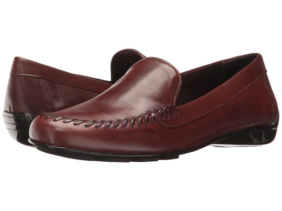 Walking Cradles Mercer (Tobacco Leather) Slip-On Shoes