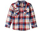 Levi's® Kids - Barstow Plaid Western Shirt (Toddler)