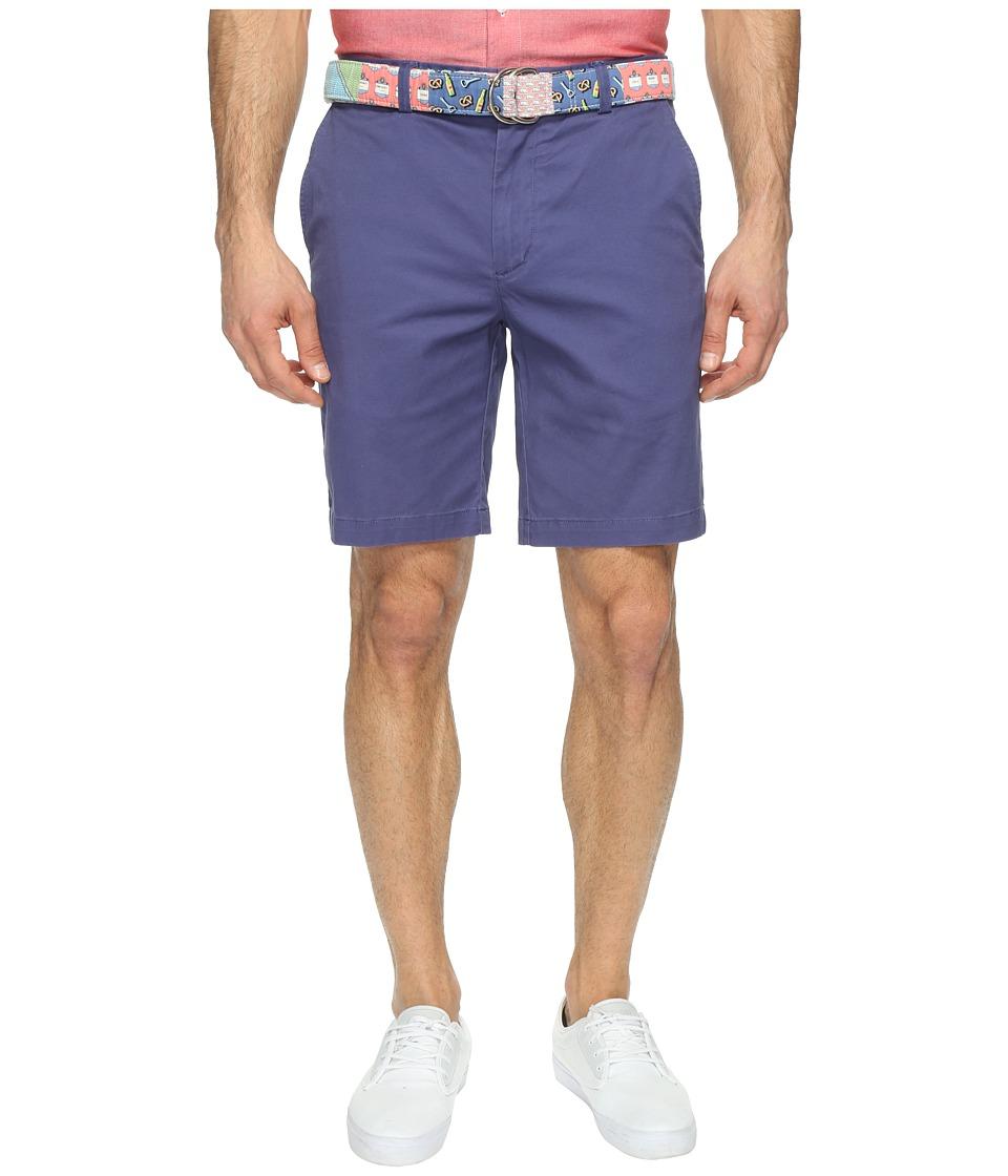 Vineyard Vines 9 Stretch Breaker Shorts (Deep Cobalt) Men