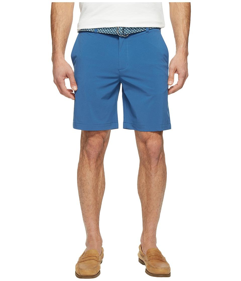 Vineyard Vines 8 Performance Breaker Shorts (Flag Blue) Men