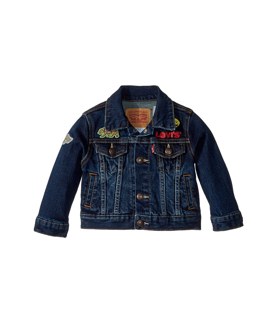 Levis(r) Kids - Denim Trucker Jacket (Infant) (Stormy River) Boys Coat