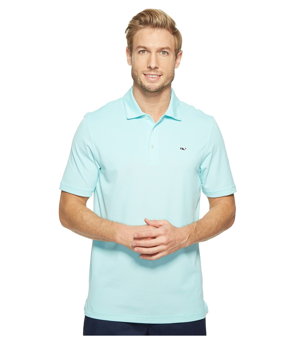 Vineyard Vines Golf Vineyard Vines Golf - Performance Dormie Solid Oxford Polo