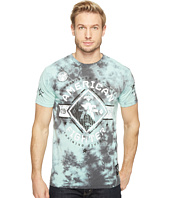 American Fighter - Hartwick Pattern Short Sleeve Tetris Mock Twist Tee