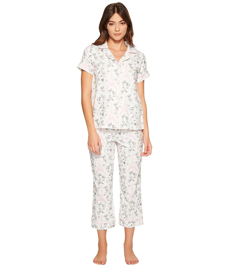 BedHead - Short Sleeve Cropped Pants Set