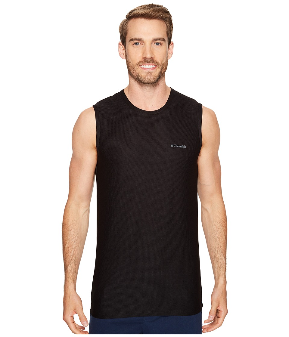 Columbia Diamond Mesh Muscle Tee (Black) Men