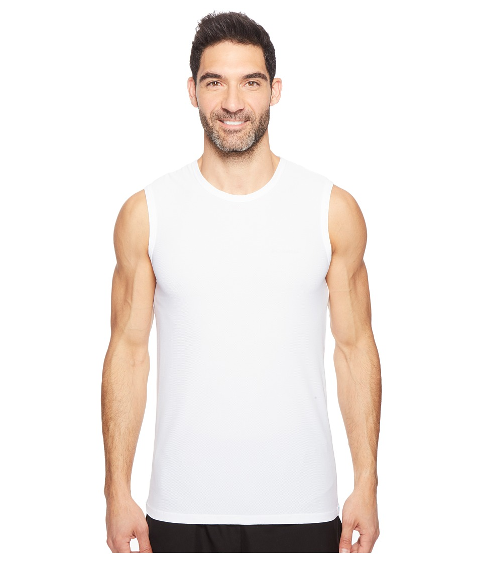 Columbia Diamond Mesh Muscle Tee (White) Men